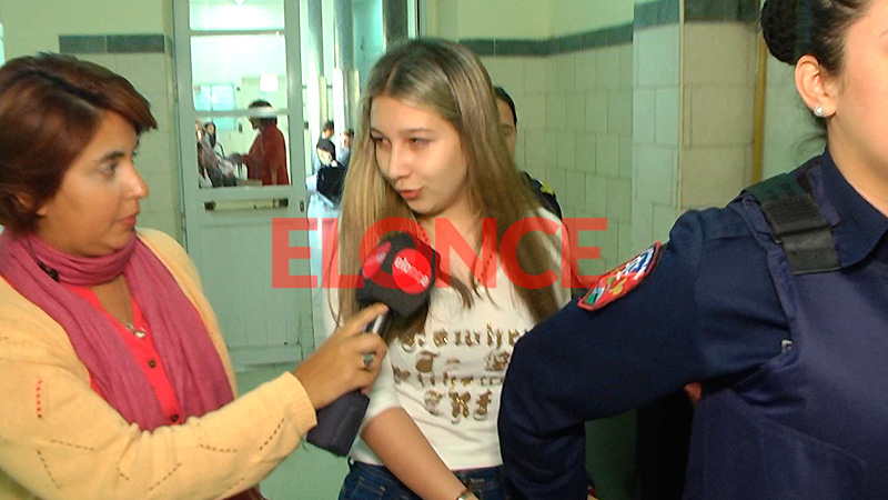 Habló Nahir Galarza al ser trasladada para un control médico