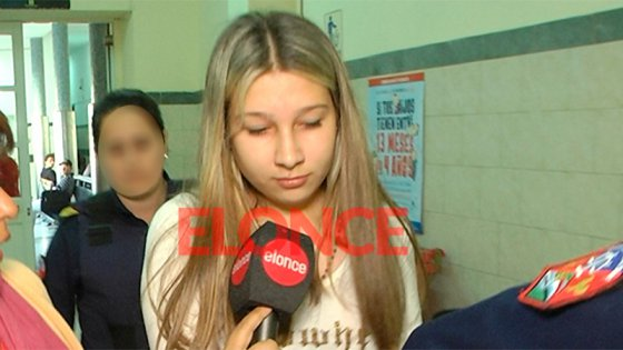 Video: Nahir Galarza en el hospital y su diálogo con Elonce TV