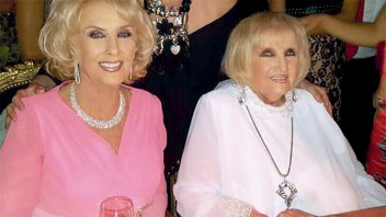 ¿Mirtha y Goldie Legrand no son gemelas?