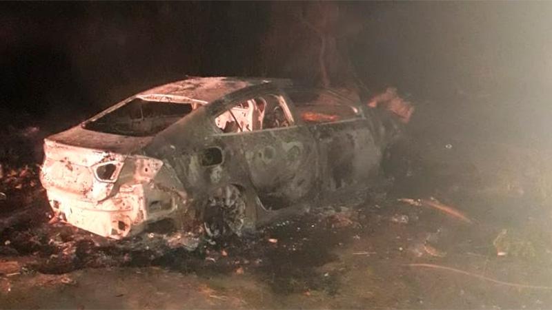 Incendiaron el auto de un futbolista de Patronato