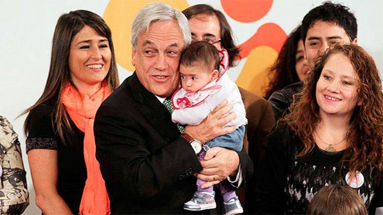 Piñera anunció una ley para motivar a los chilenos a tener más hijos