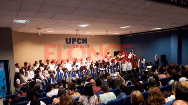 El Coro de UPCN celebró sus 10 años