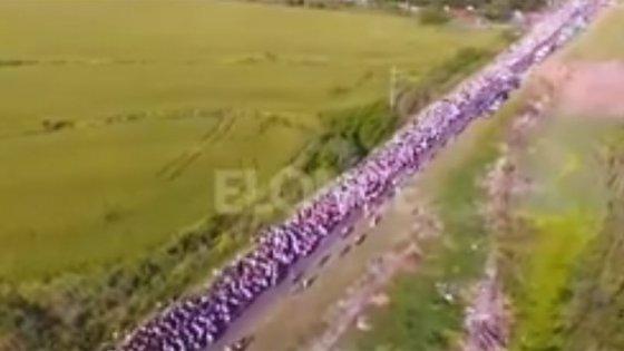 La 36° Peregrinación de los Pueblos, desde el drone de Elonce TV