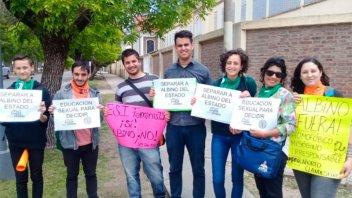 Organizaciones repudiaron en Crespo los dichos de Abel Albino