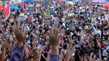 Las mujeres volvieron a tomar las calles de Brasil para rechazar a Bolsonaro