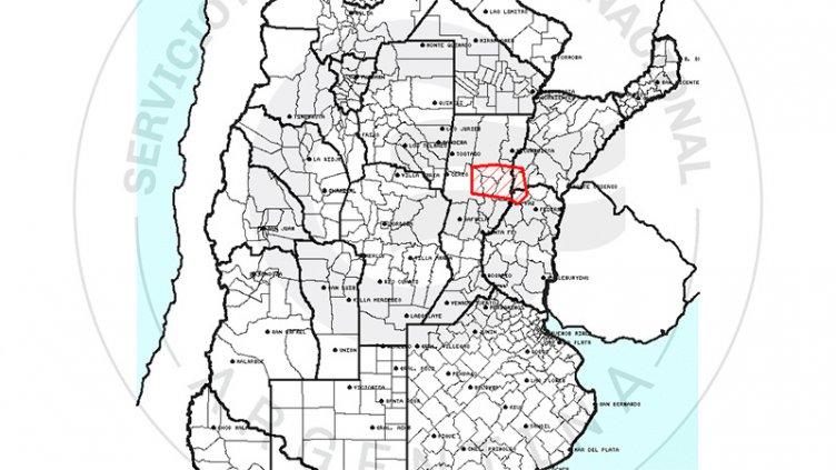 Alertan por posible caída de granizo en una zona de Entre Ríos