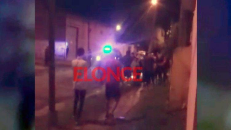Audio y video: Así fue el enfrentamiento armado en barrio Paraná V