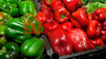 Los tomates, morrones y papas aumentaron 100% su precio