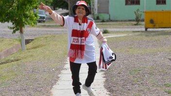 Fanática de River, tiene 81 años y cumplirá su sueño de conocer el Monumental