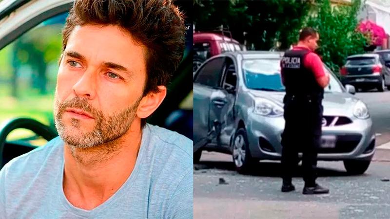 Chocó Mariano Martínez en una esquina sin semáforos