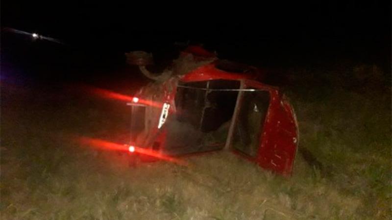 Accidente fatal en Ruta Nº2.
