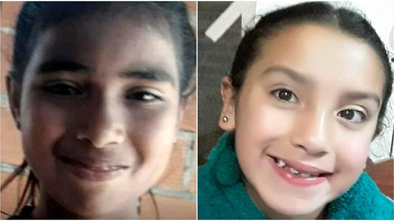 Sheila y Estefanía tenían 10 y 9 años cuando fueron asesinadas.