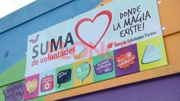 Buscan padrinos solidarios para Suma de Voluntades