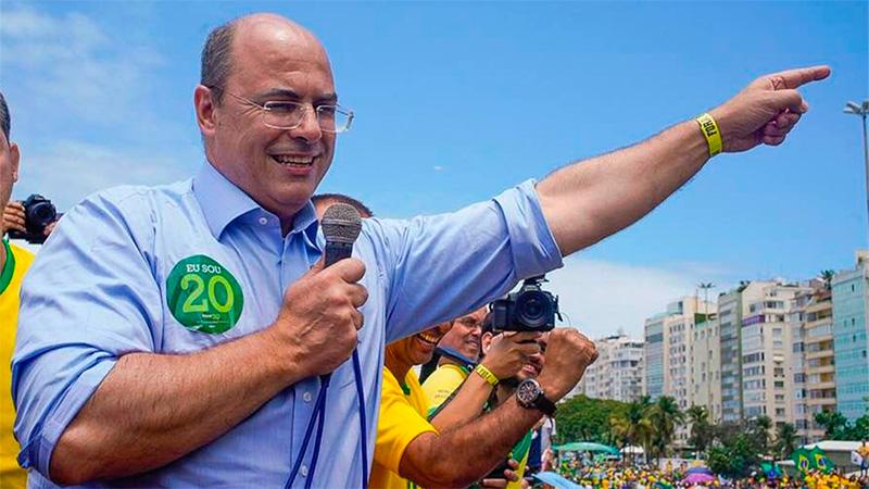 Wilson Witzel es el nuevo gobernador de Río de Janeiro.