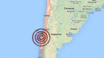 Un sismo de magnitud 5,2 sacudió la costa central de Chile