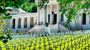 EE.UU homenajeó a estadounidenses que murieron en la Primera Guerra Mundial