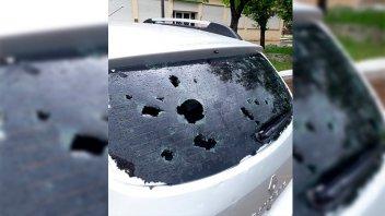 Intensa granizada causó gravísimos daños en Santa Fe: Imágenes