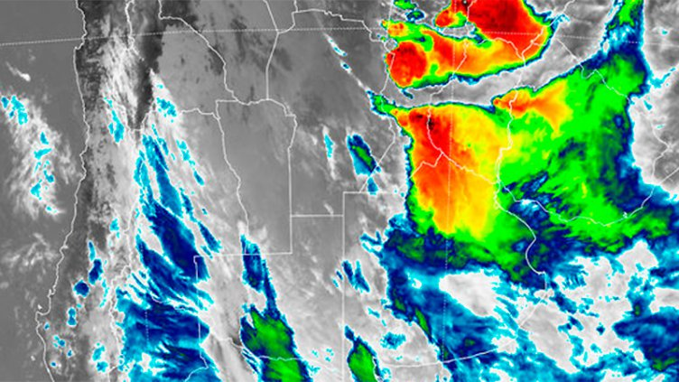Nueva celda del temporal amenaza a once departamentos: Sigue el alerta