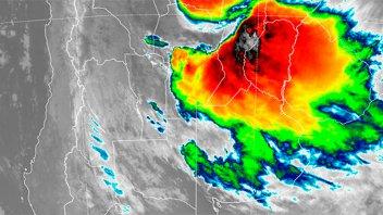 Entre Ríos en el ojo del temporal: Sigue en alerta por fuertes tormentas