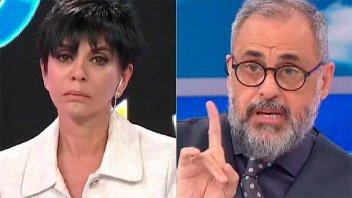 Fuerte cruce entre Mónica Gutiérrez y Jorge Rial