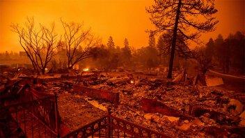 Fuego sin control en California: 31 muertos y más de 100 desaparecidos