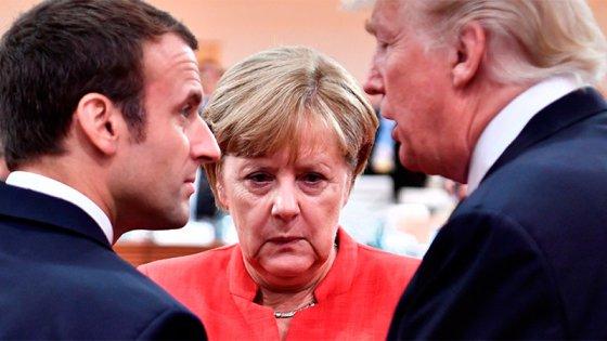 Trump contra Macron: