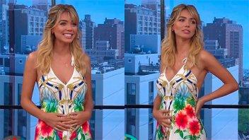 Una de las secretarias más sensuales de la TV reveló que está embarazada