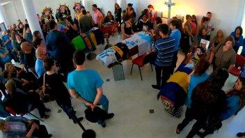 Tragedia de los hinchas de Boca: Dolor en la despedida de los cuatro amigos