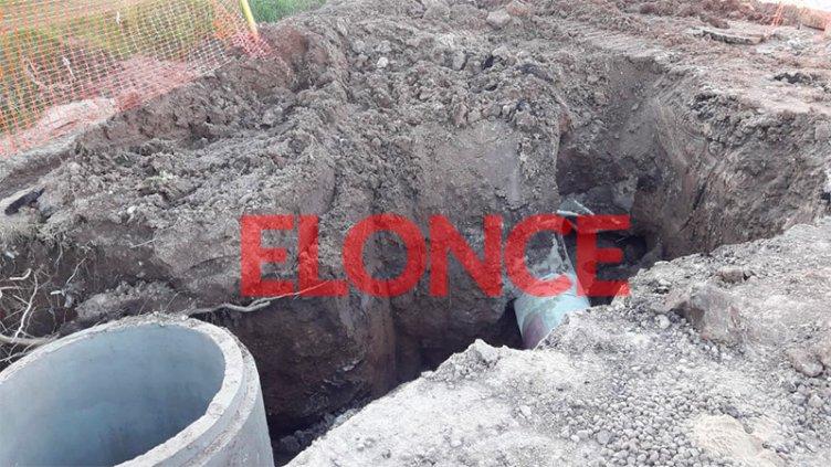 Repararon el conducto y se normaliza el suministro de agua en la zona sudoeste