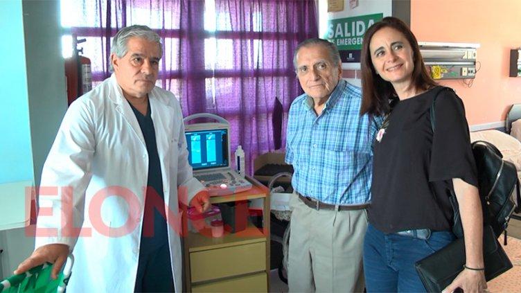 Cooperadora del hospital San Roque entregó un ecógrafo para la Sala de Cirugía