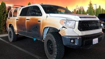 Enfermero que quemó su camioneta por salvar vidas en incendio recibió una 0 KM