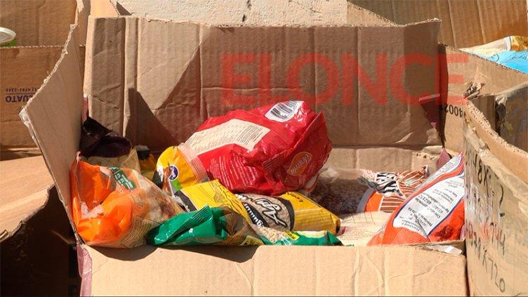 El comedor de la Iglesia San Miguel recibió donaciones de la escuela Carbó
