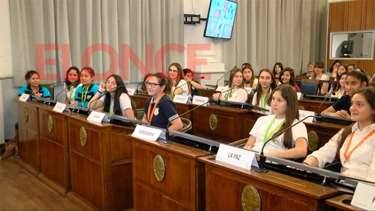 Se realizó el cierre de la edición 2018 del Senado Juvenil