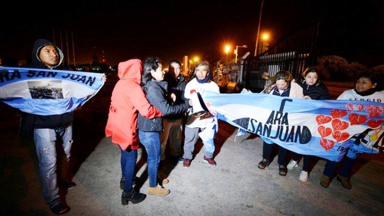 ARA San Juan: las primeras reacciones de los familiares de los tripulantes