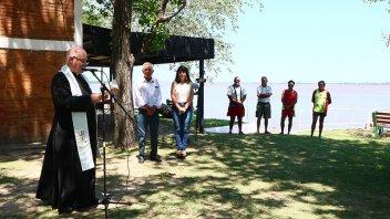 Quedó formalmente inaugurada la temporada de playas en Villa Urquiza