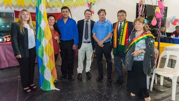 Varisco encabezó la apertura de la 29° Feria de las Colectividades