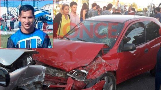 Imprudencia y muerte: Las imágenes tomadas minutos después del choque
