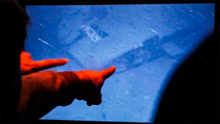 La jueza evalúa pedir que vehículo robótico extraiga partes del ARA San Juan
