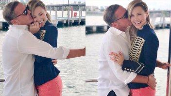 Mimoso y a los besos: Las fotos de Luis Miguel con su novia venezolana