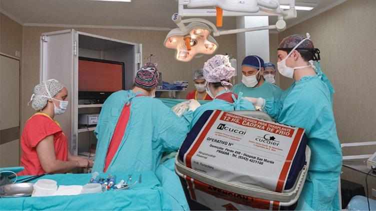 Nueva ablación en Paraná: Cinco personas recibirán trasplantes de órganos