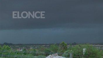 Alerta por fuertes tormentas para el norte de Entre Ríos