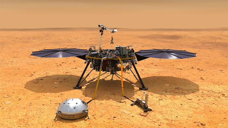 La sonda Insight (NASA).-