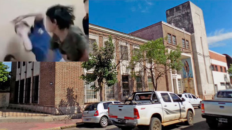 Resultado de imagen para Discusión por una lámina derivó en una violenta agresión en una escuela