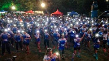 Ayudar hace bien: Se corrió la maratón Paraná se enciende impulsada por Gigared
