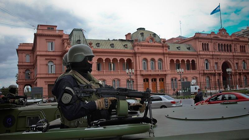 Fuerte dispositivo de seguridad se desplegó durante el G20.