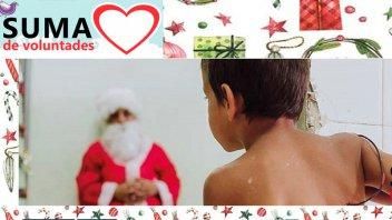 Suma de Voluntades busca Padrinos para que niños reciban su regalo de Navidad