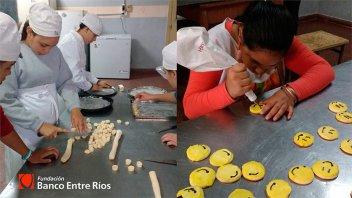Se equiparon dos talleres gastronómicos y saludables en escuelas de Paraná
