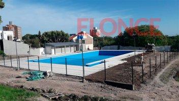 Estiman que a mediados de diciembre será inaugurada la pileta del Parque Berduc