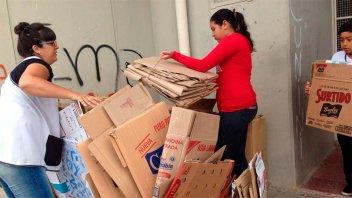 Escuelas recolectaron casi 40 toneladas de papel y cartón para reciclar
