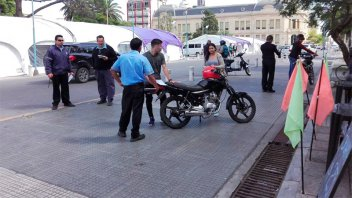 Por los ruidos molestos, rutuvieron motos en el microcentro de Paraná